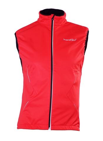 Nordski Premium детский лыжный жилет RED