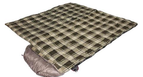 Alexika Siberia Wide Plus спальный мешок кемпинговый
