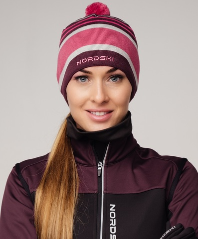 Nordski Bright лыжная шапка violet