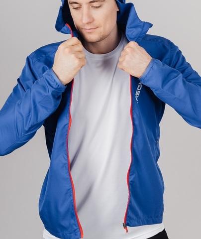 Nordski Run Elite костюм для бега мужской black-vasilek