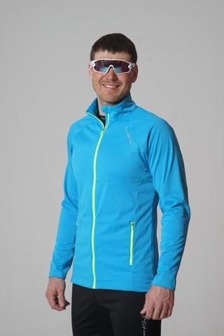 Nordski Elite разминочная куртка мужская blue