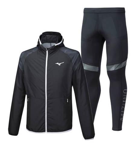 Mizuno Printed BT костюм для бега мужской black
