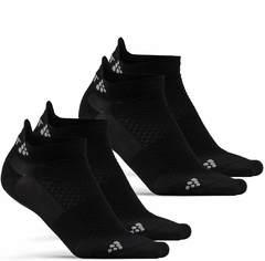 Комплект коротких носков Craft Cool черные 2 пары