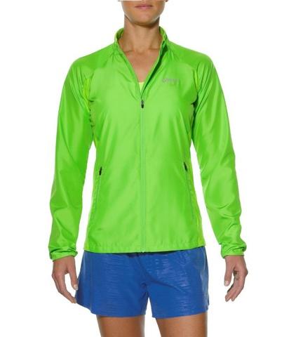 Asics Woven Jacket Женская куртка ветровка lime
