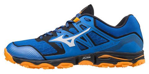 Mizuno Wave Hayate 6 кроссовки для бега мужские синие-оранжевые
