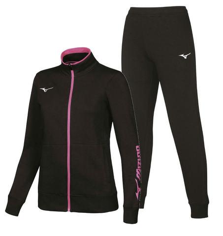 Mizuno Sweat спортивный костюм женский black