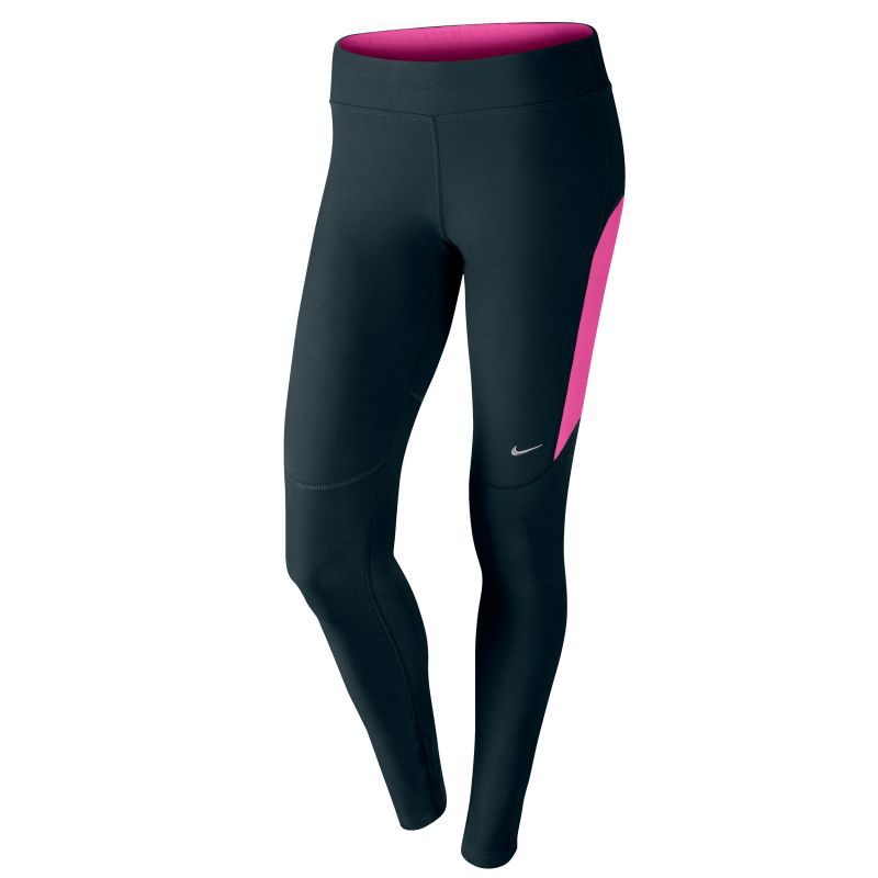 Тайтсы Nike Filament Tight (W) чёрно-розовые