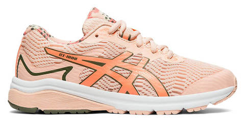 Asics Gt 1000 8 Gs Sp кроссовки для бега подростковые коралловые
