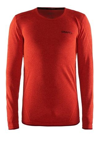 Craft Active Comfort мужское термобелье рубашка оранжевое