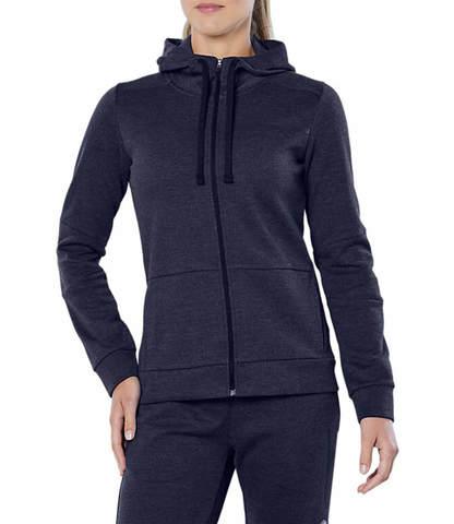 Asics Tailored Fz Hoody толстовка женская темно-серая