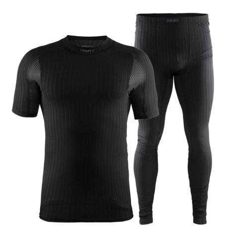 CRAFT ACTIVE EXTREME 2.0 комплект термобелья мужской черный с футболкой