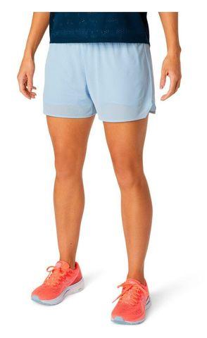 "Asics Ventilate 2 In 1 3.5"" Short  шорты для бега женские голубые"