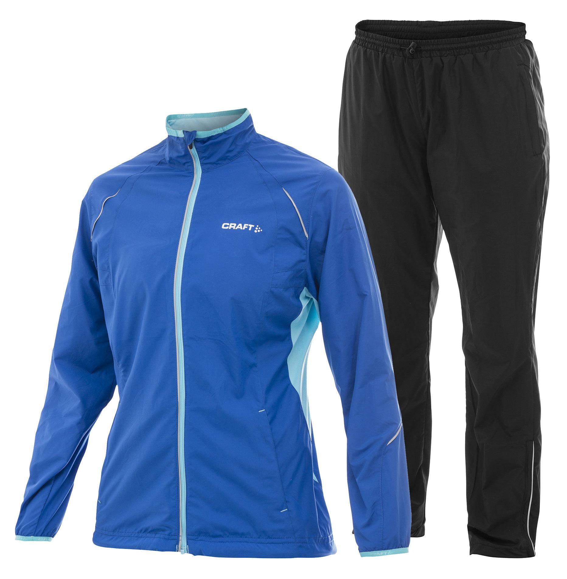 Беговой Костюм Craft Active Run женский blue