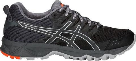 Asics Gel Sonoma 3 женские кроссовки внедорожники черные