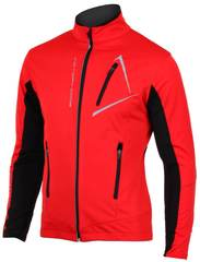 Victory Code Dynamic детская разминочная лыжная куртка красная