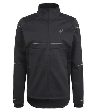Asics Lite Show Winter куртка ветрозащитная мужская черная
