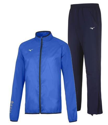 Mizuno Authentic Rain Micro костюм для бега мужской синий