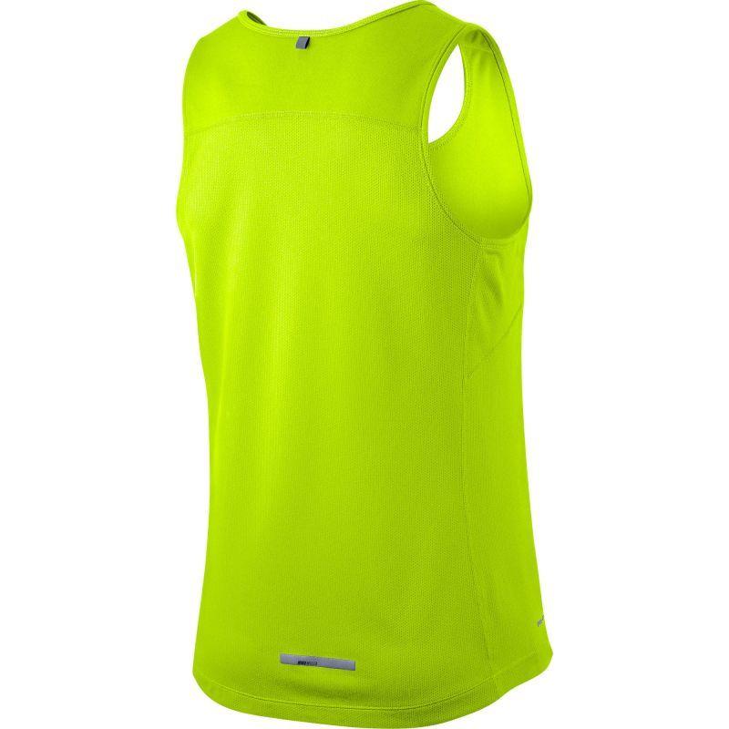 Майка л/а Nike Miler Singlet салатовая - 2