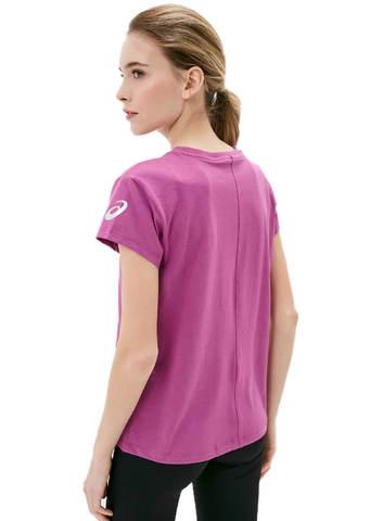 Asics Katakana Graphic Tee футболка для бега женская фиолетовая