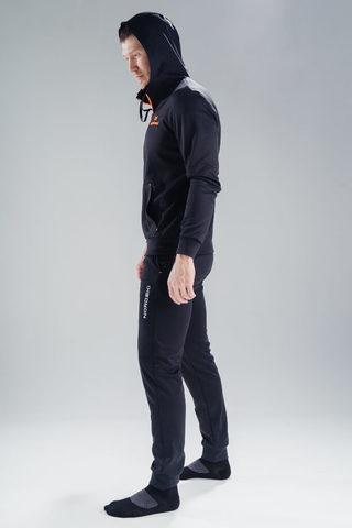 Nordski Hood толстовка мужская black-orange