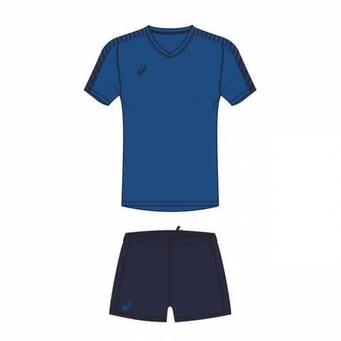 Asics Volley Set волейбольная форма мужская синяя