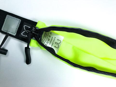 Поясная сумка для бега Enklepp Run Belt Fast lime
