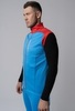 Nordski Premium лыжный жилет мужской синий-красный - 3
