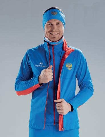 Nordski Elite RUS разминочная куртка мужская