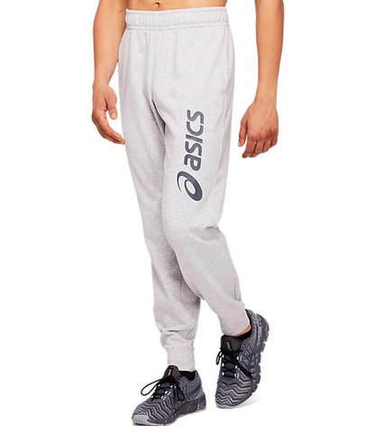 Asics Big Logo Sweat Pant спортивные брюки мужские серые