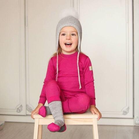 Janus детский комплект термобелья для девочки