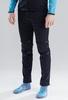 Nordski Premium 2020 разминочные лыжные брюки мужские черные - 1