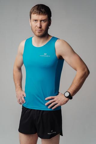 Nordski Run майка беговая мужская light blue