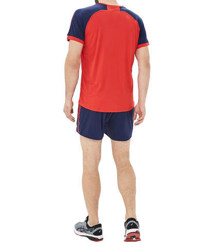 Asics Volley Set волейбольная форма мужская красная