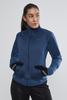 Craft Fusion лыжная куртка женская синяя - 2