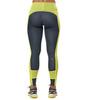 Asics Leg Balance Tight беговые тайтсы женские серые-желтые - 2