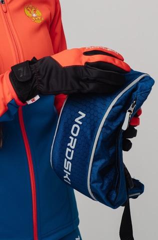 Nordski Racing WS перчатки гоночные черные-красные