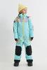 Комбинезон утепленный детский Cool Zone BOOST аквамарин-серый - 1