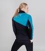 Nordski Premium разминочная куртка женская blue-black - 2