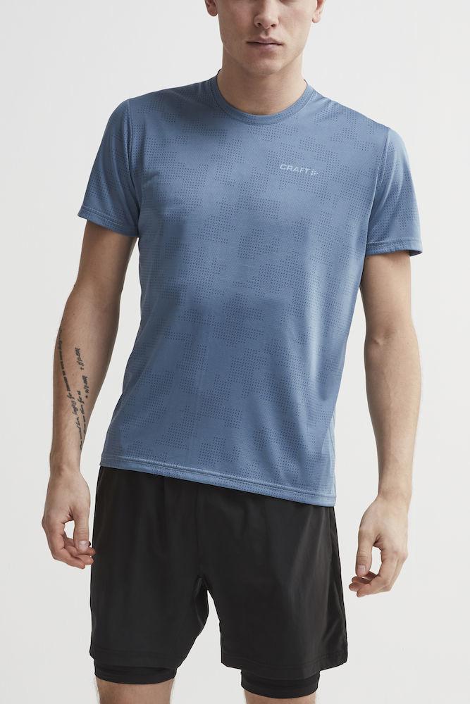 Craft Eaze футболка беговая мужская синий - 2