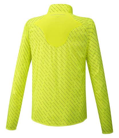 Mizuno Reflect Wind Jacket куртка для бега мужская желтая