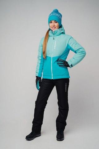 Nordski Montana зимний лыжный костюм женский sky-blue