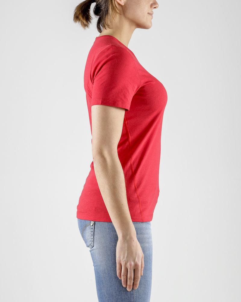 Craft Deft 2.0 футболка женская красная - 3