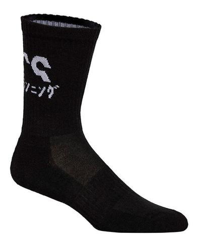 Asics 2ppk Katakana Sock носки беговые черные-белые