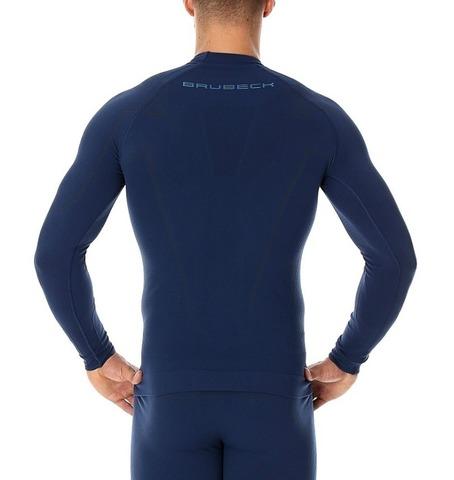 Brubeck Thermo Nilit Heat термобелье мужское рубашка синяя