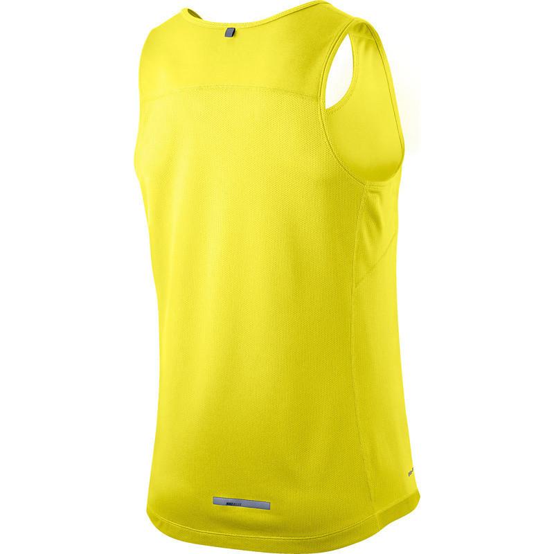 Майка л/а Nike Miler Singlet жёлтая мужская