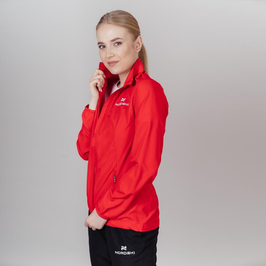 Nordski Motion куртка ветровка женская Red - 3