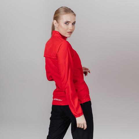 Nordski Motion куртка ветровка женская Red