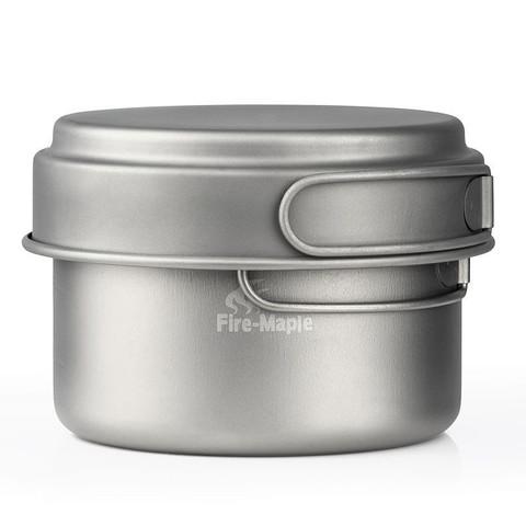 Fire-Maple Horizon 3 набор туристической посуды из титана