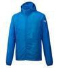 Mizuno Printed Hoodie Jacket куртка для бега мужская голубая - 1