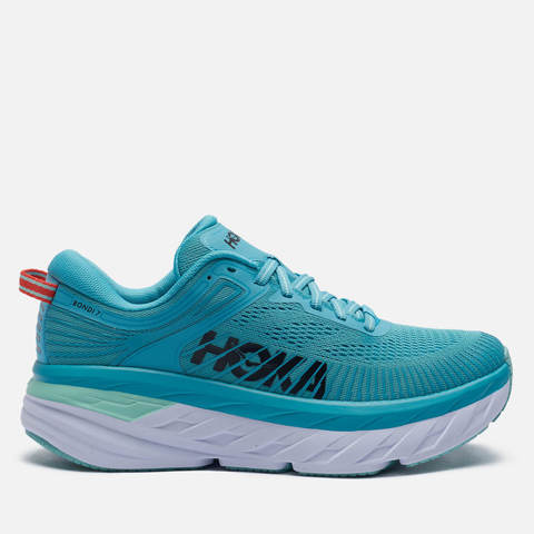 Hoka One One Bondi 7 кроссовки для бега женские голубые